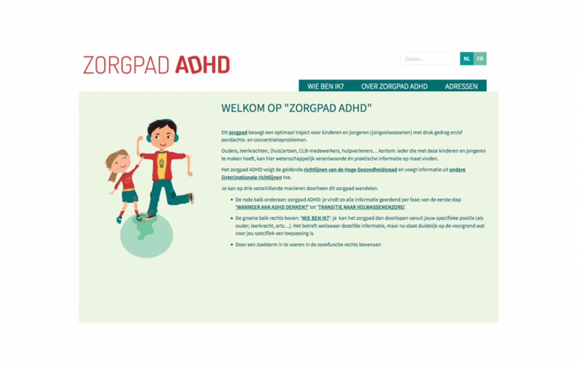 ZORGPAD ADHD